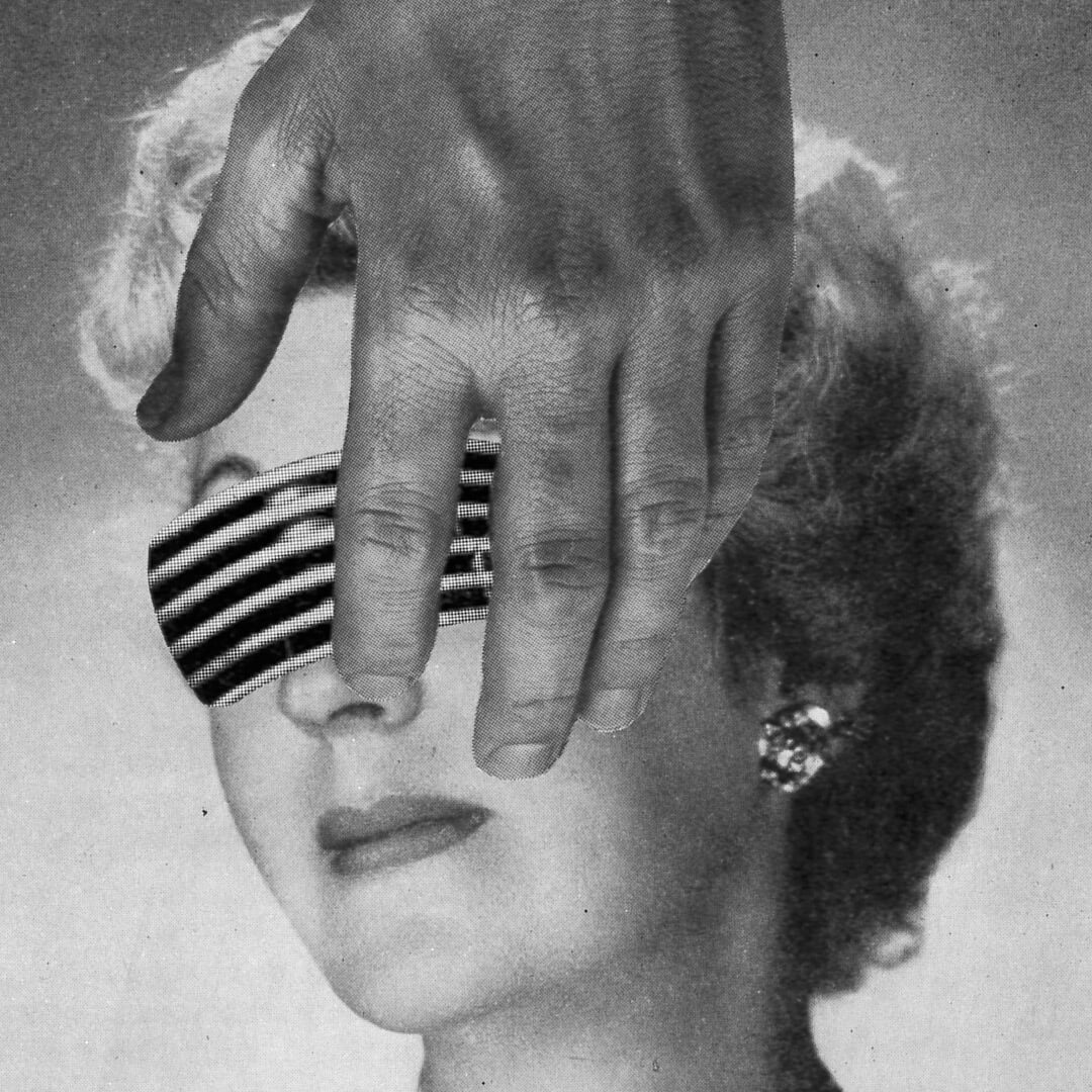Her / Original Analog Collage Artwork