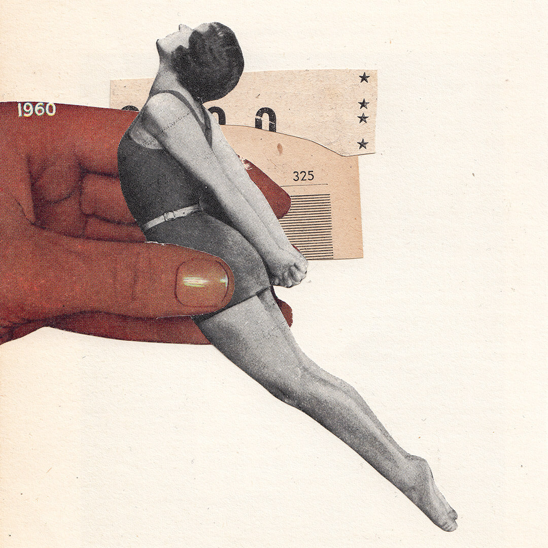 To Have And To Hold / Original Analog Collage Artwork
